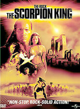 The Scorpion King (DVD, 2002, Full Frame) Michael Clarke Duncan  Disc Only