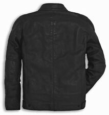 NWT Ducati Alpinestars Men's Downtown C1 Leather Motorcycle Jacket - Perforated
