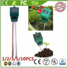 1-10Pack  Soil Water Moisture PH Tester for Garden Plant Flower 3 in 1 Meter  FJ