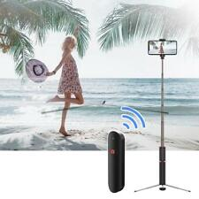 Selfie Tripod Phone Holder Stick + Bluetooth Wireless Remote Shutter For Phone