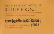 LITTLE ABC BOOK OF RUDOLF KOCH *Excellent Condition*