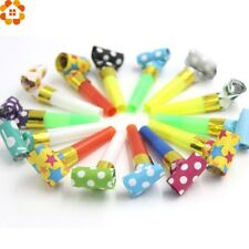 DIYHouse® 20PCS/Lot Colorful Blowouts Whistles Dots Whistle Blowing Dragon Kid
