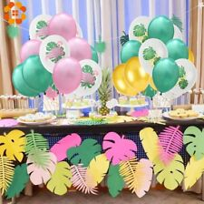 DIYHouse® 15pcs/10pcs/Set 12inch Latex Flamingo Pineapple Leaf Balloon Flamingo