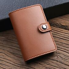 Fashion Money Wallet Leather Business Credit Card Cash Holder Clip Purse Pouch