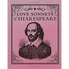Love Sonnets of Shakespeare (In One Sitting/Minature Edns) Hardback