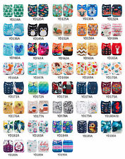 U Choose ALVA Cloth Diapers One Size Reusable Washable Pocket Nappies + Insert