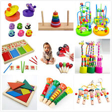 Wooden Toy Gift Baby Kids Intellectual Developmental Educational Early Learn RG