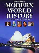 Modern World History: Patterns of Interaction, ,0618377115, Book, Acceptable