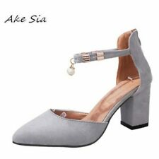 2019 Summer Women Shoes Pointed Toe Pumps Dress Shoes High Heels Boat Shoes