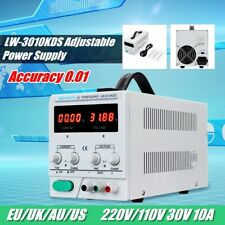 0~30V 0~10A 110/120V DC Power Supply Adjustable Precision Variable Digital