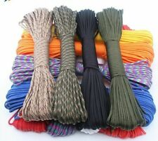 Colored Paracord 550 Rope Type Iii 7 Stand 100ft 50ft Parachute Cord Survival
