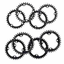 Single Tooth Narrow Wide Bike MTB Chainring 104BCD 32T 34T 36T 38T Black Round