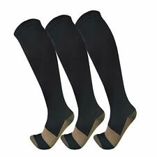 Copper Compression Socks For Men  Women(3 Pairs),15-20Mmhg Is Best For Running,