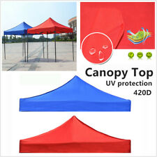 Canopy Top Replacement Patio Gazebo Outdoor Sunshade Tent Cover Replace 10x10ft