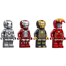 LEGO Iron Man Avengers Endgame Minifigures - Tony Stark Armor Suit 76125 Armour