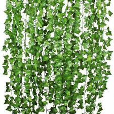 Artiflr 84Feet 12 Strands Artificial Flowers Greenery Fake Hanging Vine Plants L