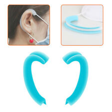 1-Pair Anti-Slip Silicone Mask Ear Grips Extension Hook Soft Mask Ear Protector
