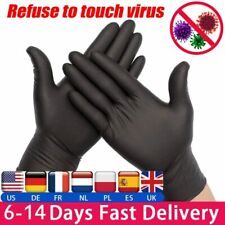 50-300pcs Disposable Gloves Latex Anti Virus For Home Cleaning Medical Rubber