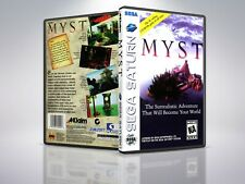 Myst - Saturn - Replacement - Cover/Case - NO Game
