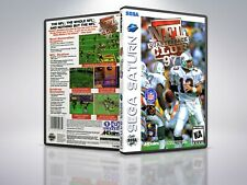 NFL Quarterback Club 97 - Saturn - Remplacement - Cover/Case - NO Game