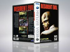 Resident Evil - Saturn - Replacement - Cover/Case - NO Game PAL/US