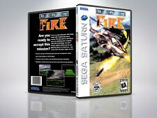 Black Fire - Remplacement - Saturn - Cover/Case - NO Game