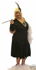 1920'S CHARLESTON STYLE FANCY DRESS IN ALL PLUS SIZES