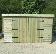 12mm Tanalised Timber wood Garden Tool Tidy Bike store Shed Height 4'-4'6