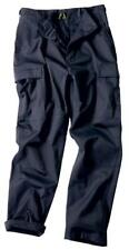 New Mens Army Style BDU Combat Cargo Pants Trousers NAVY BLUE -