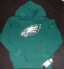 PHILADELPHIA EAGLES BOYS REEBOK SWEATSHIRT HOODIE  S M