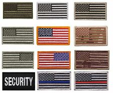 USA Military American Flag Patch with Velcro Backing