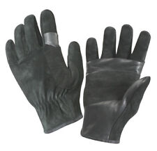 SWAT/FAST Rope Leather Rescue Gloves -Soft Durable Cowhide Leather