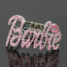 Iced Out NICKI MINAJ BARBIE Bangle Bracelet
