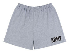 US United States ARMY PT Boxer Gym Shorts NO POCKETS