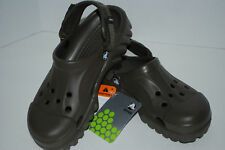 NWT CROCS OFF ROAD 5 6 7 8 9 10 11 12 hiking shoes sport sandals CHOCOLATE BROWN