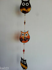 SUN CATCHERS Home & Garden Decor *Angels Owls chickens*