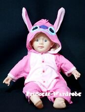 Baby Infant Pink Stitch Outfit Halloween Costume NB-18M