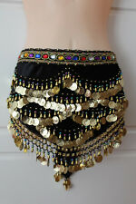BELLY DANCE or  DANCING HIP SCARF ~NEW~3 Colours