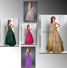 JUST DIVINE! LACE-UP BACK STRAPLESS BEADED FORMAL/EVENING/PROM/BALL GOWN