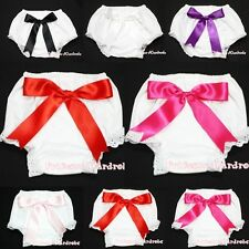 Plain Style Bloomer with Various Giant Bow Pantie Brief For Newborn Baby 6m-3Y