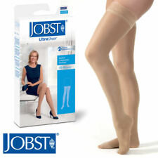 Women Compression Thigh Stockings 15-20 mmhg Silicone Lace Strip Closed Supports