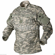 US Army Military Acu Digital Camo Combat Uniform Shirt Top Jacket xs,s,r,l,xl GI