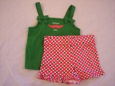 NWT Girl's Gymboree Palm Beach Paradise shirt shorts ~ 12 18 24 months 2 2T 4 4T