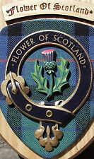 SCOT CRESTS:Scottish Gifts Clan Crested Wall Plaques Keith to MacDonaldofKeppoch