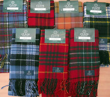 GL Attractions: Family Clan Scarves Selection Anderson to Farquharson