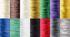 210 Feet 1mm Thick Bugtail Satin Beading Cord String Cording For Beads