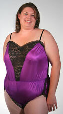 PLUS SIZE Lace inset Teddy (Style #302)