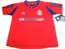MLS Adidas Club Deportivo Chivas Home Call Up Kids Red Soccer Jersey