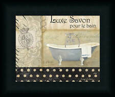 Savons de Bains I by Avery Tillmon French Spa Bath 10x8 Framed Art Print Picture