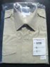 NEW in packet FAD issue British Army  Long Sleeve  NCO Man Fawn Shirt